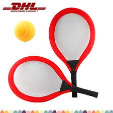 Kinder Badmintonset Federball 2 Schläger 3 Bälle Tennis Outdoor Farbe zufällig