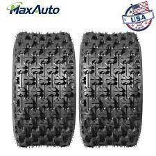 (2)20X10-9 Rear Sport ATV Tires for Honda ATC250R TRX250R TRX400EX TRX450ER