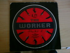 7 inch Single THE WORKER von FISHER-Z   UK Pressung (1979)   °6
