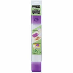 Clover Knitting Needle Tube Case: Purple