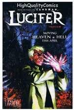 LUCIFER / SWAMP THING Preview, NM, Vertigo, ashcan, 2000, more Promos in store
