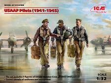 ICM 32104 - 1:32 scale - USAAF PILOTS (1941-1945) (3 FIGURES)