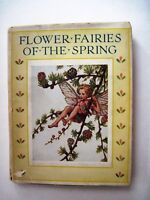 "1930's Rare Enchanting Book Flower Fairies of ""Spring""  by Cicely Mary Barker *"