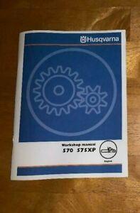 Husqvarna 575 XP 575XP AT XP/G Chainsaw Service Workshop Repair Manual