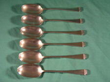 Mappin & Webb Art Deco Antique Silver Spoons