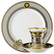 VERSACE PRESTIGE GALA 3 PLACE SETTING PLATE CUP SET ROSENTHAL RETAIL $500