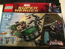 LEGO 76004 MARVEL SUPER HEROES SPIDER-MAN SPIDER-CYCLE CHASE