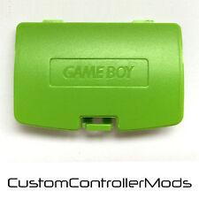Nintendo Gameboy Color GBC GAME BOY coperchio batteria di ricambio colore verde lime