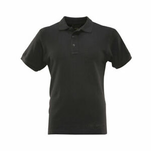 Tru-Spec 24-7  Series Classic Polo Short sleeve Black Polo ONLY