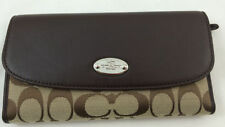 Coach Clutch Checkbook Wallets for Women