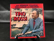 VINYLE 45 TOURS TINO ROSSI MA DERNIERE CHANSON COLUMBIA 1977