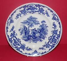 Mason's Ironstone * la Colección Azul Y Blanca * placa de coleccionistas romántico