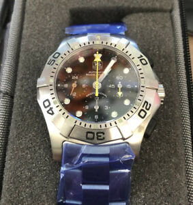 TagHeuer Aquagraph Men Stainless Steel Diver Chronograph Automatic Watch CN211A