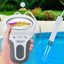 Digital PH Meter Water Quality Tester Swimming Pool CL2 Chlorine Level