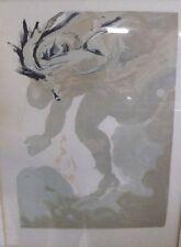 """Dali, Salvadore, """"Die Riesen"""",Farbholzschnitt Paris 1960       (1680)"""