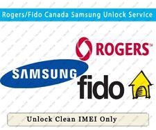 Unlock Roger & Fido Canada Samsung / Lg / Nokia / Zte /Sony etc. Except iPhone