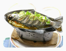 Thai Shabu Hot Pot Fish Shape Plate Wasabi Tray Stove Top Charcoal Thai Food