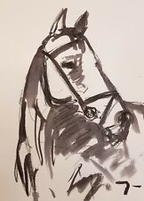 JOSE TRUJILLO Contemporary ABSTRACT EXPRESSIONIST INK WASH 18X24 NEW WORKS