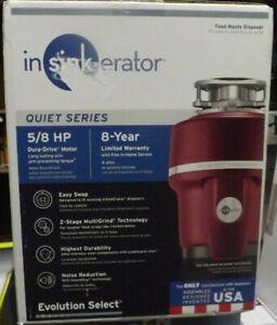 InSinkErator Evolution Select Garbage Disposal- 5/8 HP BRAND NEW