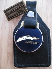 Vintage Loral Key Ring + Lockheed Lapel Badges Military USA