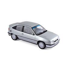 Norev Opel Kadett GSI MODELO 1987 PLATA PLATA METÁLICO metálico, 1:18
