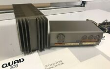 Vintage Quad 33 Control Unit & 303 Power Amp - Stereo System - Good Condition!
