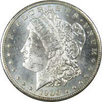 1900 O Morgan Dollar BU Uncirculated Mint State 90% Silver $1 US Coin