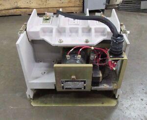 SQUARE D CLASS 8110 AC VACUUM CONTACTOR V2540C LRDX01 5000V 2 POLE 120V SER D