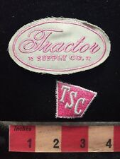 Farm Girl Pink / Agriculture Patch Cut Out Of Hat TRACTOR SUPPLY CO. TSC 69W