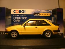 WOW SUPERB NEW RARE VANGUARDS 1/43 1981 FORD ESCORT MK3 XR3 RIGHT HAND DRIVE NLA