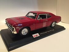 New 1970 Chevrolet Nova SS Coupe Die Cast Maisto Special Edition 1:18 scale