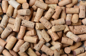 LOT OF 50 USED REAL WINE CORKS CORK CRAFTING CLEAN RED WHITE MIXED