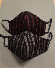 Behelfsmasken /Stoffmasken 2er Set