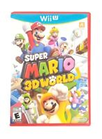 Super Mario 3D World (Nintendo Wii U, 2013) VG Condition, Complete, CIB, TESTED
