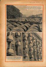 Tonneau de vin du quai de Bercy à Paris/Immeuble en Allemagne 1931 ILLUSTRATION