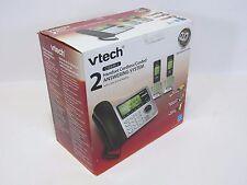 VTech DECT 6.0 Expandable Corded/Cordless Handsets Phone Digital Answer CS6649-2