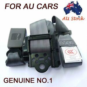 Gray 3points Vehicle Safety Sash Seat Belt Seatbelt Extender Lap Clip For Subaru