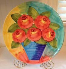 L'Arcobaleno by Fortini Large Hand Painted Platter - Italy