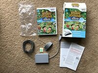Extremely Rare Animal Crossing: City Folk (Nintendo Wii) Used