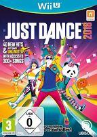 Just Dance 2018 18 - Nintendo Wii U Tanzspiel - NEU OVP