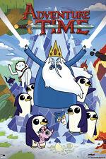Adventure Time Ice King POSTER 61x91cm NEW * Gunter penguins