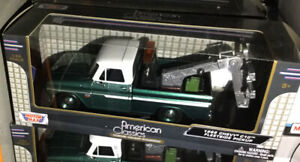 G LGB 1:24 Scale 1966 Chevy C-10 Fleetside Wrecker Tow Truck Diecast Model 75430