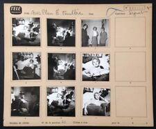 EDWIGE FEUILLERE Télévision Reportage Gros Plan Caméra Tournage 9 Photos 1958