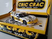 "Slot car SCX Scalextric Fly Chevrolet Corvette C5R ""CRIC CRAC"" Ed. Especial"