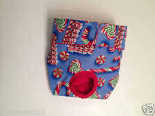 Original Female Dog Pet Diaper Panty 4R House Potty Train Terrier MED Christmas