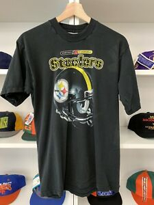 Vtg Pro Player Pittsburgh Steelers Shirt Sz XL 18-20 Youth NFL 90s