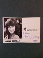 Marcy Goldman-signed photo - coa