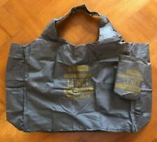 Monoprix French Shopping Bag - Grey/Yellow Design