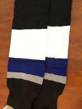 Xm Tampa bay Lightning NHL Pro Stock Hockey Player Game Socks XL New
