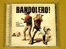 CD Soundtrack OST Bandolero! - Jerry Goldsmith - Ltd Edition 2013 - La-la Land R